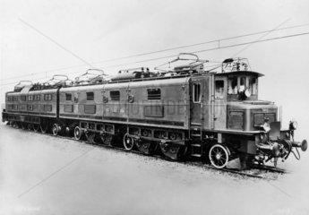 Swiss Federal Railways electric locomotive  1931.