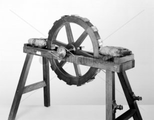 Early electromagnetic engine  mid-19th century.