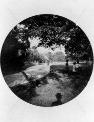 Children in a park  1888.