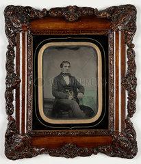 Portrait of a young man  c 1860.