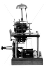 Block telegraph instruments  Victoria Railways  1892.