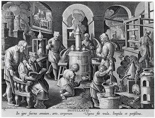 'Distillatio'.