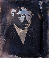 Louis Jacques Mande Daguerre  French photography pioneer  c 1840.