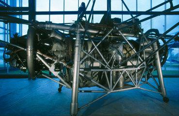 Flying bedstead test rig  1954.