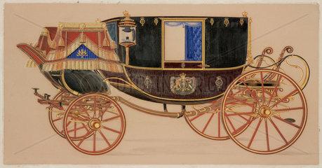 State coach  19th century.