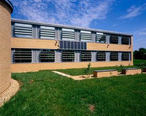 Small Photovoltaic array  Buckinghamshire  May 2001.