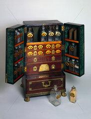 Medicine chest  c 1800.
