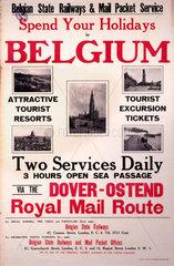'Spend Your Holidays in Belgium'  Belgian S