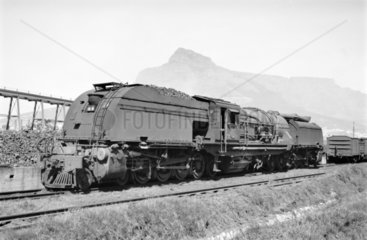 GEA locomotive at Paarden Eiland  South Africa  1968.