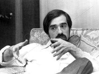 Martin Scorsese  American film director  November 1977.