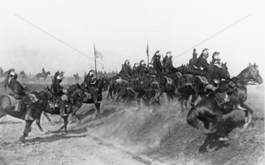 France's famous cavalry on the Western Fron