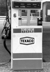 Texaco petrol pump  1985.