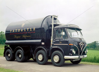 Foden tanker truck  1970.
