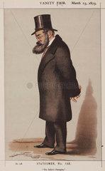 Samuel Plimsoll  English social reformer  1873.