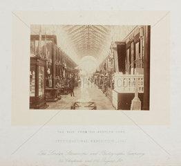 International Exhibition  London  1862.