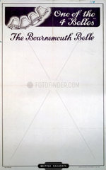 'The Bournemouth Belle'  poster  1948.