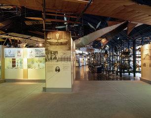 The Flight Gallery  Science Museum  London  October 2000.
