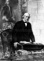 Sir Joseph Lister  amateur microscopist  1897.