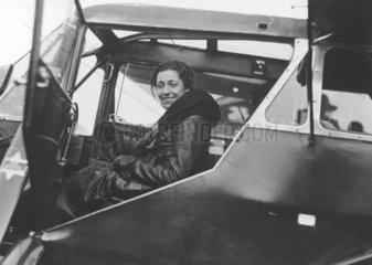 Amy Johnson  British aviator  8November 1932.