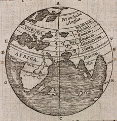 The names and order of the climates  1556.