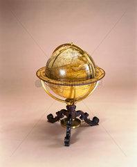 Terrestrial globe  1766.