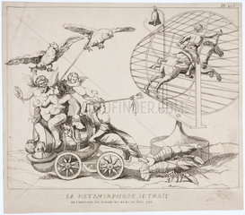 Different sorts of animal power  1791.