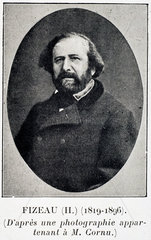 Armand Fizeau  French physicist  c 1870s.