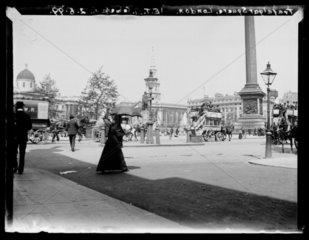 'Trafalgar Square  London'  1899