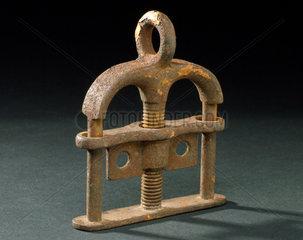 Thumbscrew  probably English  1601-1900.