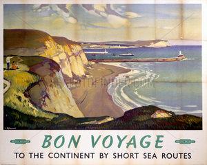 'Bon Voyage'  BR poster  1948-1965.