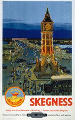 'Skegness'  BR poster  1948-1965.