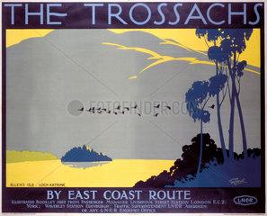 'The Trossachs'  LNER poster  1923-1947.