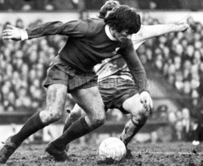 Tommy Smith of Liverpool  12 February 1973.