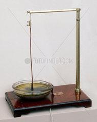 Faraday's electro-magnetic rotation apparatus.