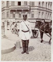 Russian policeman  c 1905.