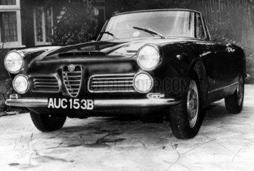 Alfa Romeo 2600 Spider  August 1964.