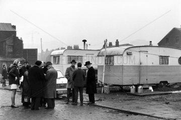 Fairground eviction  January 1969.