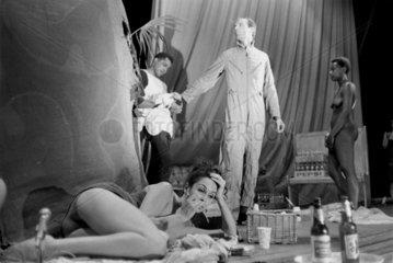 Stockhausen happening  c 1960s.