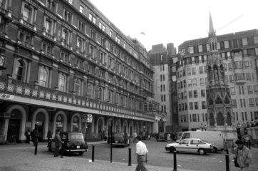Charing Cross station  London  1990.