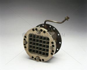 Experimental pulse jet valve assembly  c 1955.