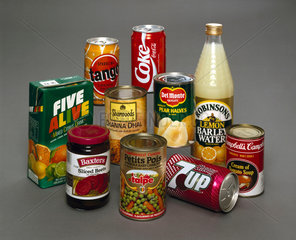 Food and drink products  1990s.