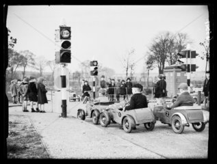 Children's traffic playground  1938.