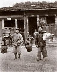 'Coolies'  China  1864-1872.