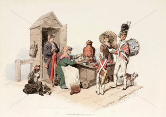 'Woman selling Salop'  1805.