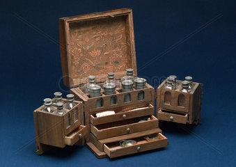 Medicine chest  German  18th century.