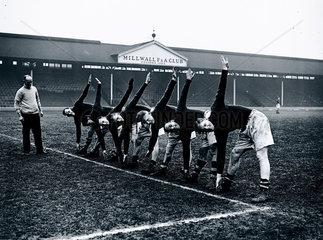 Millwall Football Club  London  10 January 1938.