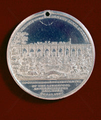 Medallion commemorating the opening of the LMR  c 1830.