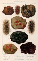 Transparent stones  1869.