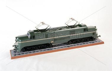 Electric locomotive  1953. Model (scale 1:1