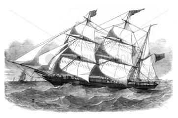 Aberdeen clipper-barque  1852.